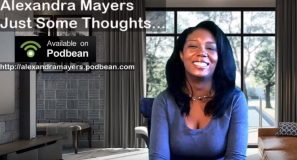 Alexandra Mayers Monica Foster Just some thoughts audio podcast